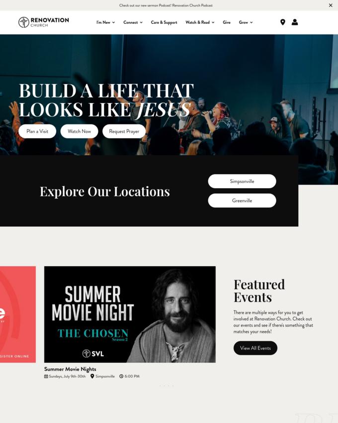Renovation Church - therenovation.church
