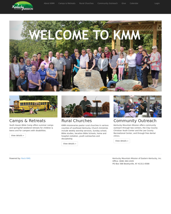 Kentucky Mountain Mission of Eastern Kentucky, Inc. - kmminc.org
